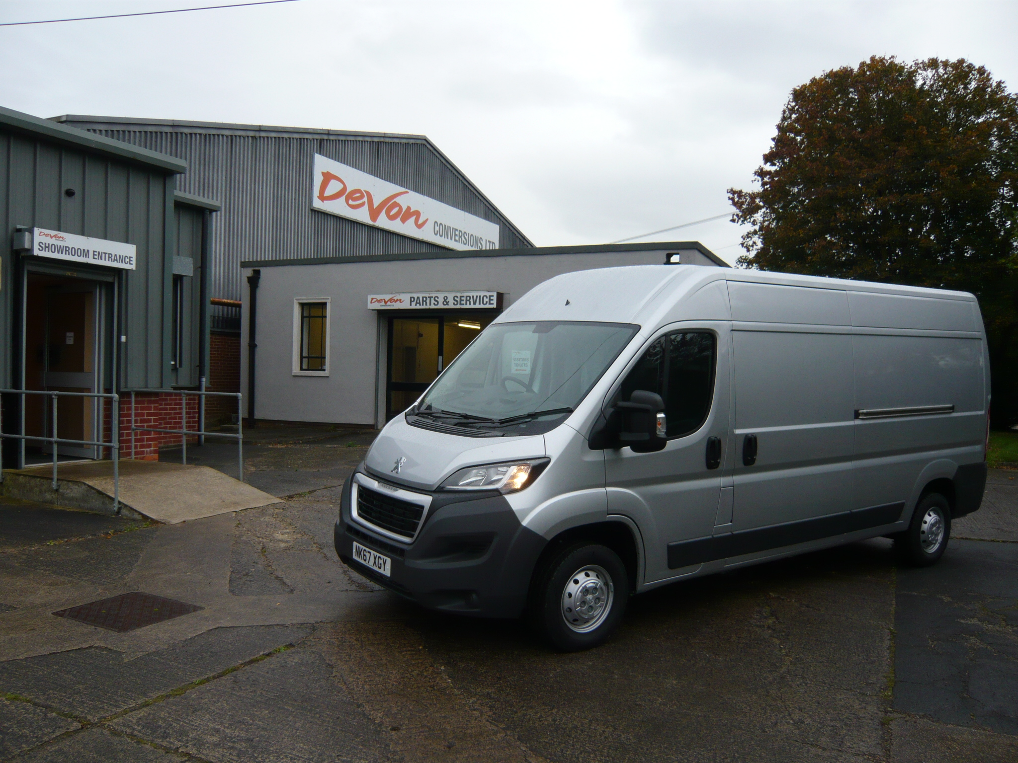 New Aztec Conversions on Pre-registered Peugeot Boxer